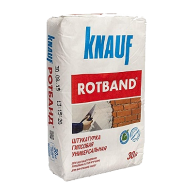 Штукатурка гипсовая Ротбанд KNAUF 30 кг , шт