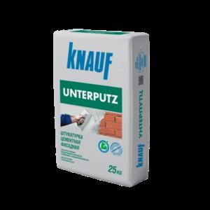 Штукатурка цементная фасадная unterputz KNAUF 25кг