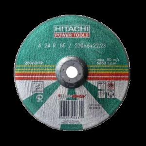 Круг шлифовальный HITACHI по металлу 230х6х22мм