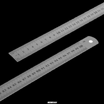 Линейка измерительная, металлическая