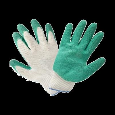 Перчатки с одинарным латексным обливом