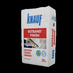 Шпаклевка гипсовая Rotband Finish KNAUF 25 кг
