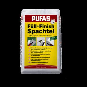 Шпаклевка заполняющая финишная Pufas Füll+Finish 20кг, шт