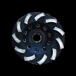 Чашка алмазная шлифовальная (125х22,23) OVK
