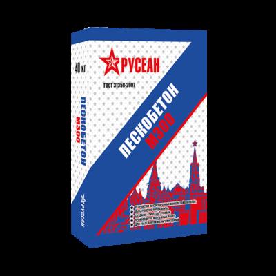 Пескобетон М-300 Русеа