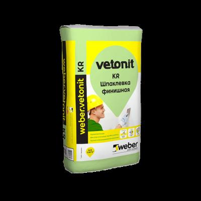 Шпаклевка полимерная финишная Vetonit KR