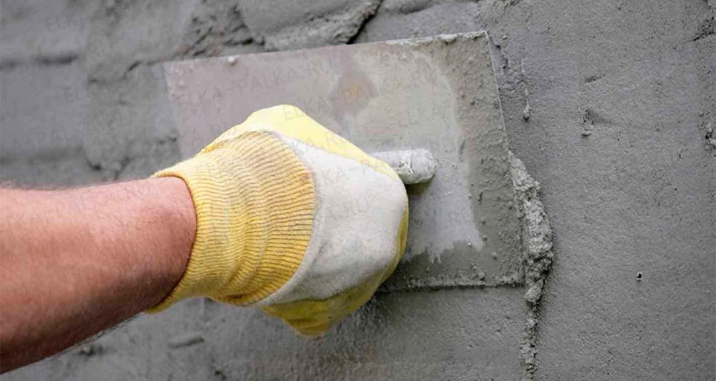 Как наносить цементные штукатурки?