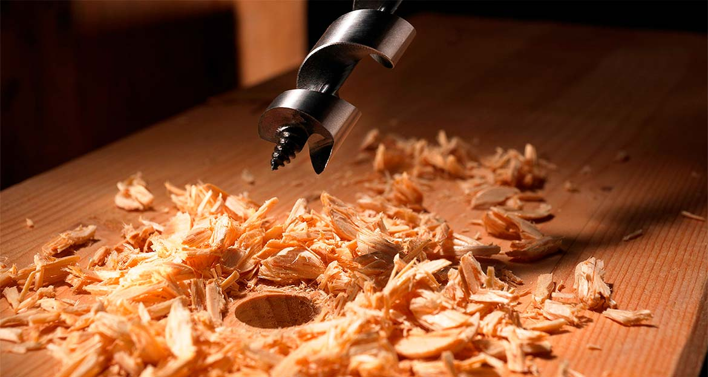Виды и применение сверл для древесины