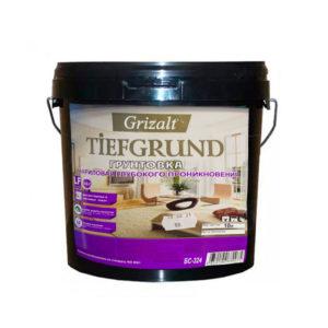 Грунтовка акриловая глубокого проникновения TiefGrund Grizalt, 10л